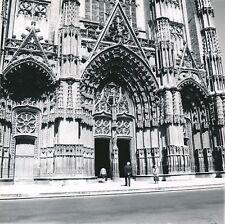 TOURS c. 1960 - 4 Photos Cathédrale  Orgues Tombeau Indre-et-Loire - L 176