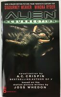 Alien Resurrection Movie Novelization by A. C. Crispin 1997 Paperback Book - New