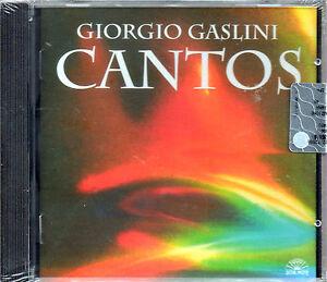 GIORGIO GASLINI - CANTOS - CD NEW - SOUL NOTE