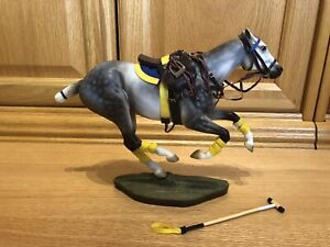 Breyer #1744 Santiago - Polo Pony  2015 Limited Edition - 3000 made w/ tack MINT