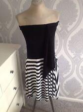 Joseph Ribkoff Dress 14 Used 80s Style Black And White