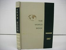 World Book Encyclopedia Yearbook - 1987 - Review of Events in 1986 Free Shipping