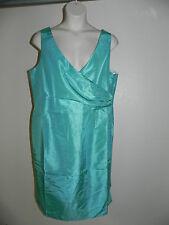 4309403b382910 Ashley Stewart Dress Plus Size 16 Womens Seafoam Green NWOT