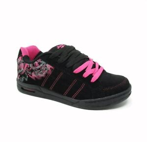 NEW GIRLS LACE UP RUNNING CASUAL SCHOOL SPORTS TRAINERS SHOES UK SIZE 13 TO 5