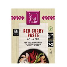 Thai Red Curry Paste (Gang Ped) 43g by Thai Taste * UK Seller - Quick Delivery