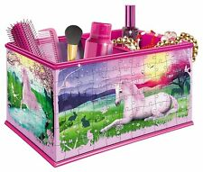Ravensburger My 3D Boutique Unicorns Vanity Box 3D Jigsaw Puzzle