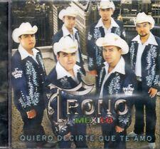 El Trono de Mexico Quiero decirte Que Te Amo  CD New Sealed