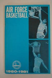 Vintage Basketball Media Press Guide Air Force Academy 1980 1981