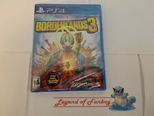 Borderlands 3 - ps4 Playstation 4 * New Sealed Game * Foil Cover Art + Gold Skin