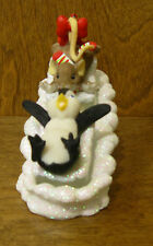 Charming Tails #4023664 THRILLS and CHILLS, by Dean Griff, Mint/Box NEW Enesco