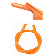 "Pine Ridge Archery Orange Nitro Peep Sight 1/4"" #40121 Matched Silicone Tubing"