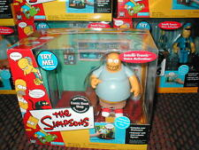 The SIMPSON`s interactive environment WOS COMIC SHOP with COMIC BOOK GUY talking