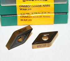 DNMG 432 NM5 WAK20 WALTER *** 10 INSERTS ** FACTORY PACK **