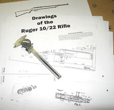 Ruger 10-22 Rifle Drawings Receiver Blueprints!!