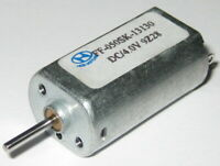 4 V DC Motor - FF-050SK - 4V DC – 7600 RPM - 1.5mm Shaft - Small Appliance Motor