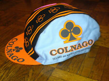 COLNAGO BICYCLE CAP / HAT - WHITE MEN CAN'T JUMP - SIDNEY DEANE - NEW - BIKE
