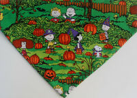 Snoopy Peanuts Halloween over the collar dog Scarf / Bandana free shipping