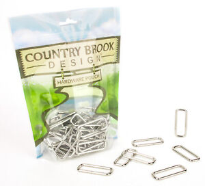 50 - Country Brook Design® 1 1/2 Inch Lite Welded Rectangle Rings