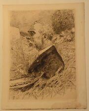 Portrait de Léon Lhermitte par Gaston La Touche