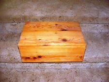 Pet Coffin Casket for Dogs or Cats 18 x 12 x 7 1/2 Inches - All Cedar