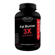 Nutrition Fat Burner 3X (Green Tea, Green Coffee & Garcinia Cambogia Ext 60 Veg