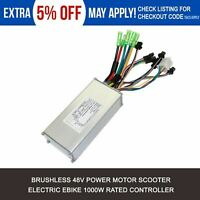 48V 1000W Rated Electric Bicycle Ebike Scooter Brushless Motor Controller