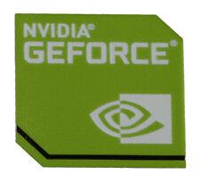 NVIDIA Geforce sticker Logo Label Aufkleber Sticker Blau 18x18mm