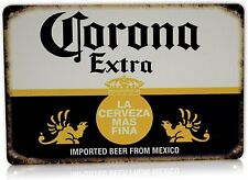 Corona Beer Man Cave Decor Metal Tin Sign Home Party Bar Vintage Signs 8 x 12""
