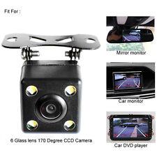 Universal Car Camera Reversing Trajectory With 4 IR Night Vision Back Up Monitor