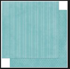 BoBunny 12x12 papel scrapbooking Doble Dot, Océano Raya X 2 Hojas