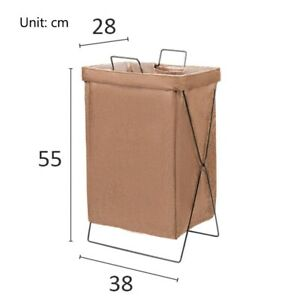 Foldable Waterproof Fabric Laundry Basket Clothes Toys Household Organizer Bags