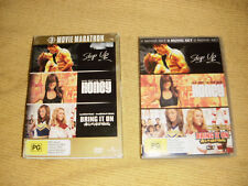 STEP UP + HONEY + BRING IT ON ALL OR NOTHING = 3 DVD as NEW drama dance R4