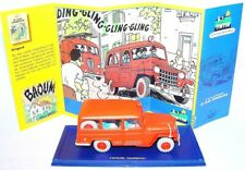 TINTIN Hergé 1:43 WILLYS OVERLAND JEEP `50 Atlas Comic Book TV Model Car 057 MIB