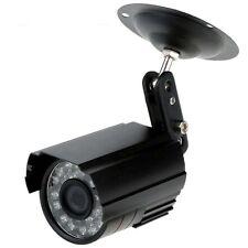 HD 800TVL 24 IR-LED CCTV Kamera Hause ueberwachungskamera Tag / Nacht wasserd DE
