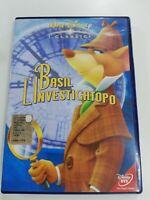 BASIL L'INVESTIGATOPO Walt Disney dvd film Italiano x bambini DVD OTTIMO USATO