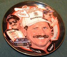 "Hamilton/Nascar/Dale Earnhardt Lt. Ed Collector Plate - 6 1/2"" - Man in Black"