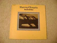 "Harry Chapin - ""Heads & Tales"" 33 RPM LP Vinyl Elektra !972 / VG+"