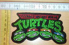 Teenage MUTANT NINJA TURTLES TMNT Rare Woven Patch