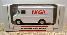 NASA SHUTTLE TEAM TRANSPORT GRUMMAN STEP VAN 1989 DIECAST ERTL BANK #9467