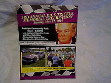 2016 DICK TRICKLE FLYER #99,nascar driver,racing,rudolph wisconsin,stock car,wi