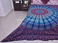 Hippie Mandala Duvet Cover Queen Indian Quilt Cover Cotton Throw Doona Cover