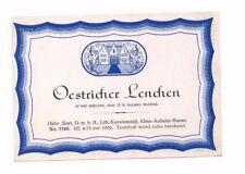 Germany - Wine Label - Gebruder Illert, Hanau - Oestricher Lenchen