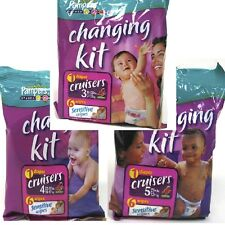 6 pk Pampers Cruisers Changing Kit Select Size **Free Shipping** Unscented