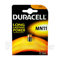 1 x Duracell Alkaline MN11 6V battery E11A A11 WE11 CX21A L1016 Remote Alarms