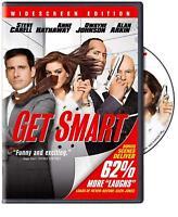 DVD - Comedy - Get Smart - Steve Carrell - Anne Hathaway - Dwayne Johnson
