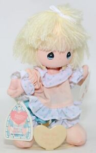 """NWT Vintage 1989 Precious Moments Applause Friendship Doll W/ Stand 6.5"""" #16592"""