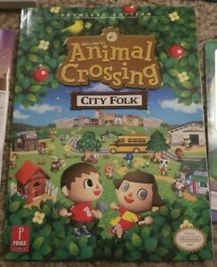 Animal Crossing: City Folk Wii Strategy Guide, excellent condition with poster