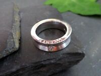 Charmanter 925 Silber Ring Viventy Zirkonia Solitär Matt Glänzend Designer Edel