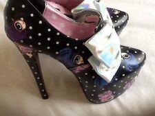 IRON FIST Lovely Iris Platform Sandal Shoes UK 4 EUR 37 RARE! Last One Reduced