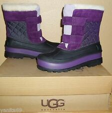 UGG Australia Ramsey Kids Waterproof Winter Boots NIB US 5 /EU 35 Deep Purple